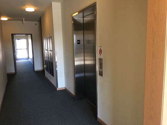 Elevator in 205 Beach Apartments